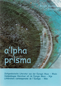Anthologie a'lpha prisma